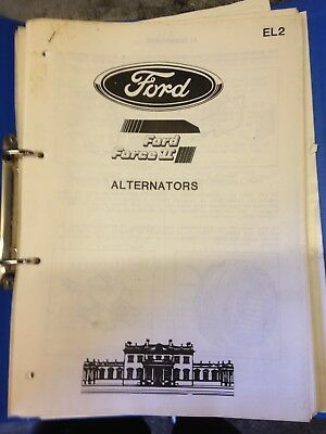 ford tw 25 35 dealers electrical workshop manual. force 11 2