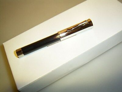 *CLEARANCE SALE* GRAF VON FABER CASTELL Intuition PLATINO fluted black >FACTORY