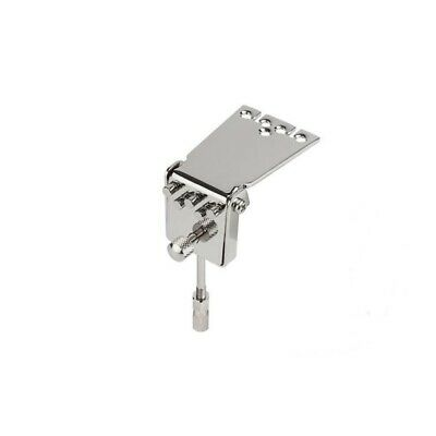 Golden Gate P-117 Old Waverly Style Banjo Tailpiece - Nickel Plated Brass