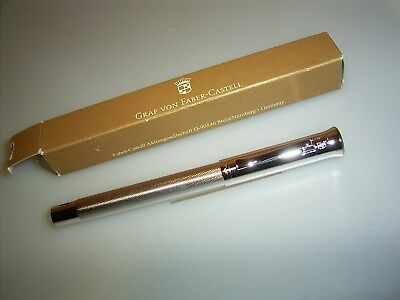 *CLEARANCE SALE*  FABER CASTELL Guilloche pen, rhodinated