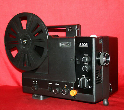 EUMIG S-905 SUPER 8mm SOUND MOVIE PROJECTOR,   SERVICED BY PROJECTOR HEAVEN.  A1