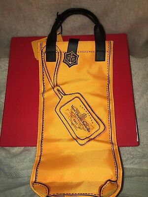 Veuve Clicquot Orange Champagne Bag