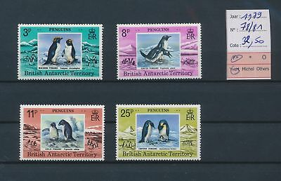 LI78042 British Antarctic Territory 1979 penguins birds MNH cv 32,5 EUR