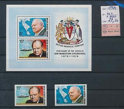 LI78045 British Antarctic Territory 1974 Sir W. Churchill MNH cv 27,5 EUR