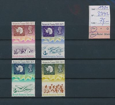 LI78046 British Antarctic Territory 1971 treaty fine lot MNH cv 75 EUR