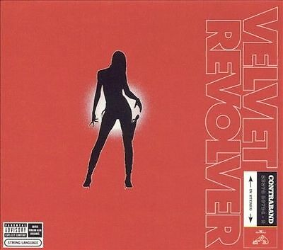 Contraband [PA] by Velvet Revolver (CD, Jun-2004, RCA) With Dust Cover Like New