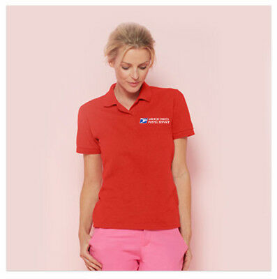 USPS LADIES POLOS - Dry Blend Embroidered Postal Shirts - 15 colors to choose!