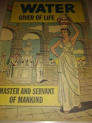 WATER OF LIFE, MASTER &  SERVANT OF MANKIND, A BOOKLET FROM THE MYERS CO/1950s