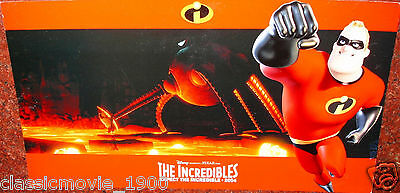 """The Incredibles (2004) Original 8 Lobby Cards 9.5"""" X 17"""""""