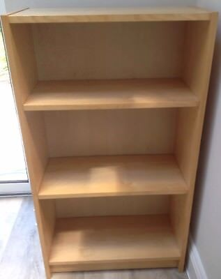 BillyBookcase Low Beech Effect