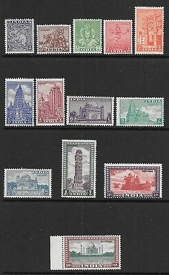INDIA 1949 Pictoral Mint Never Hinged Issues Selection (Aug 017)