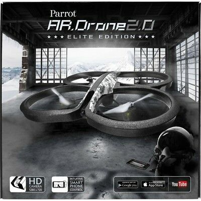 Parrot AR Drone 2.0 Elite Edition Quadcopter with 720p HD Camera (D002)