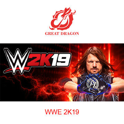 [Contact Before Purchase] WWE 2K19 [PC Global]