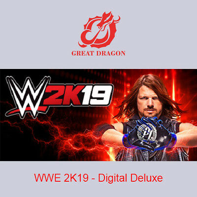 [Contact Before Purchase] WWE 2K19 - Digital Deluxe [PC Global]