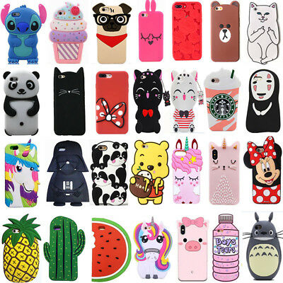 For iPhone 5 5s 5C SE Case Cover Soft Hot 3D Classic Cartoon Cute Luxury Fashion