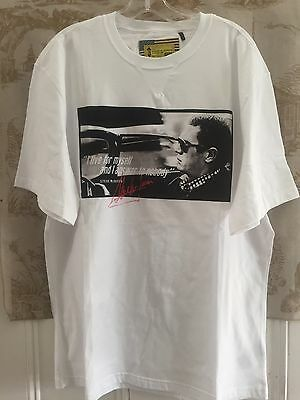 Nwt New Barbour Steve Mcqueen I Live For Myself Nobody Tee Shirt Uk L Us M