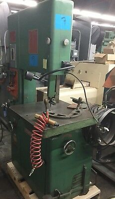 "Powermatic 20"" Vertical Metal Cutting Bandsaw / Ban Saw Model #87 With Welder"