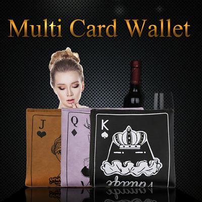 Creative Vintage Fashion Style Small Size Wallet Card Holders Bag NS