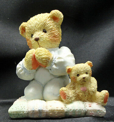 Cherished Teddies Patrick Praying Thank You For A Friend 911410 Free USA Ship