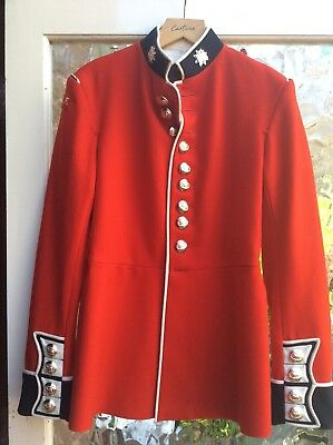 Red Military Tunic/Jacket AFC, size 38 chest 32 waist, good cond all buttons etc