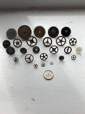 Vintage Clock gears or spares and repairs