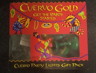 CUERVO GOLD Jose Cuervo PARTY LIGHTS gift pack- NEW IN BOX