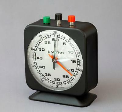 Smiths Darkroom Wind-up Clock Timer - NS 22G - Boxed