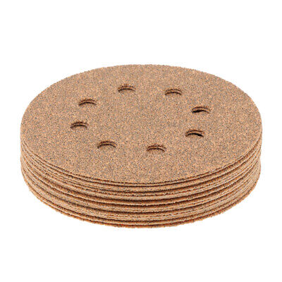 "20pc 123mm 5"" Orbital Sander Sandpaper Sanding Paper  40-600#"