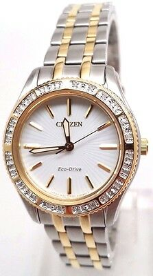 Citizen Eco-Drive Ladies Carina Diamond Dress Watch EM0244-55A