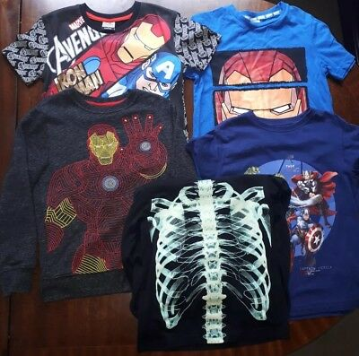 Bundle of boys t-shirts/tops, 6-7 years.