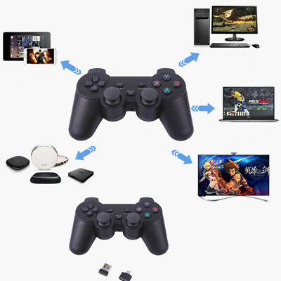 2.4G Wireless Gamepad PC For PS3 TV Box Joystick Joypad Game Controller Remote