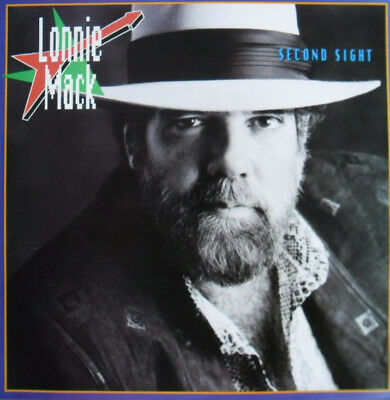 Lonnie Mack  -  Second Sight  Holland 86   VG+