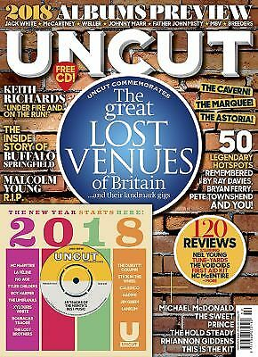 Uncut Magazine - Lost Venues, Keith Richards + CD February 2018 (NOBARCODE)