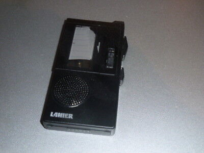 Harris Lanier P-135 Handheld Portable Microcassette Tape Voice Recorder/Player