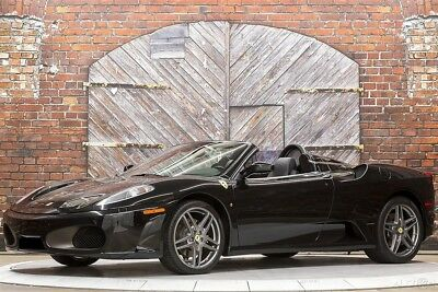 Ferrari 430 Spider F1 07 430 Convertible Titanium Wheels Leather Rear Shelf Door Molding iPod 21k mi