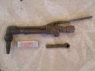Vintage Victor Welding/Cutting Torch 90 Degree ( Tip Cleaner Kit/Tool )