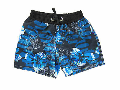Kids Shorts Board Shorts Hawai Boys Girls Cool Swimming Summer Blue Cute Funky