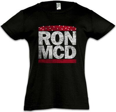 RON MCD Kids Girls T-Shirt Ronald Fun McDonald McDonald's Whopper Big Burger Mac
