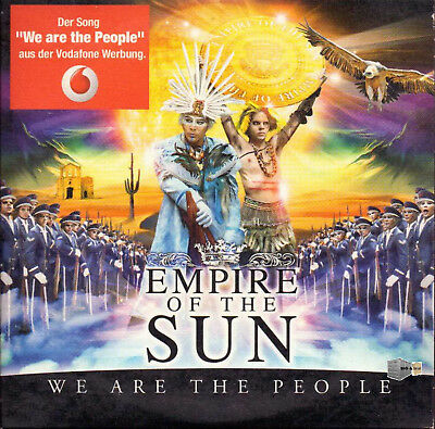 We Are The People - Empire Of The Sun - im Papersleeve - 2 Track