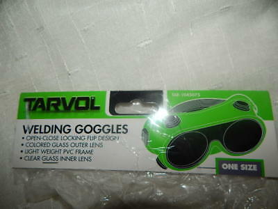 Welding Goggles (CONVENIENT FLIP-UP STYLE) Industrial Grade Brazing Glasses - Ta