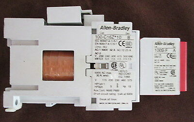 Allen Bradley Guardmaster 100S-C16ZJ14C Safety Contactor Relay 16A