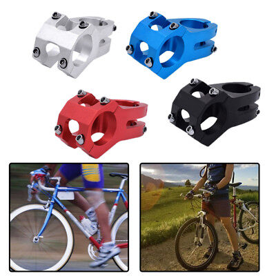 31.8mm MTB/Road Bicycle Handlebar Short Stem Aluminum Alloy Bike Riser Bar Mount