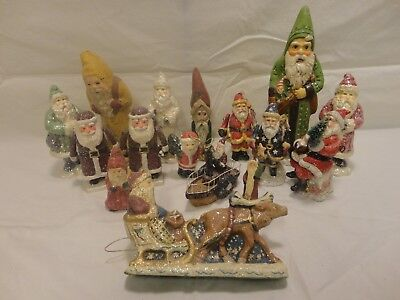 Collections of Santas Lot of 16