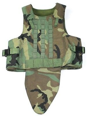 Woodland SPEAR X-Large Plate Carrier Vest RANGER SAFARILAND CAG M81 EAGLE BALCS
