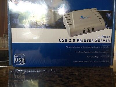 AirLink 101 USB 2.0 Printer server 1 Port APSUSB211
