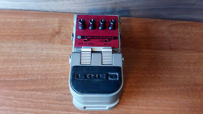 Line6 Crunchtone Distortion Effect Pedal ->Versatile distortion effect<-