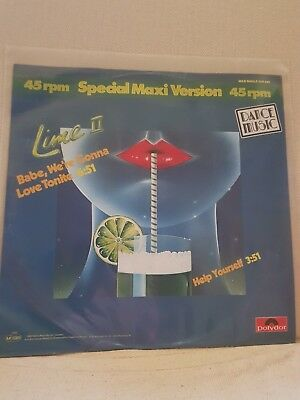Maxi Lime - Baby, We`re Gonna Love Tonite 12inch