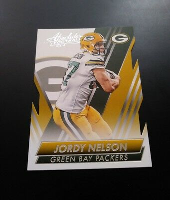 Jordy Nelson Green Bay Packers Cut #26 Panini Absolute 2014 NFL Football Card