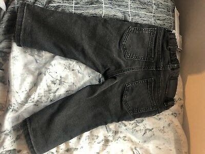 Bnwt Baby Boys Denim Jeans Age 6-9 Months By H&m
