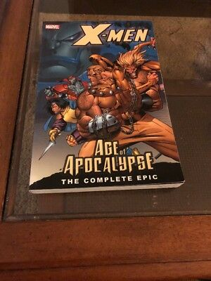 NEW! X-Men: The Complete Age of Apocalypse Epic #1 TPB graphic novel
